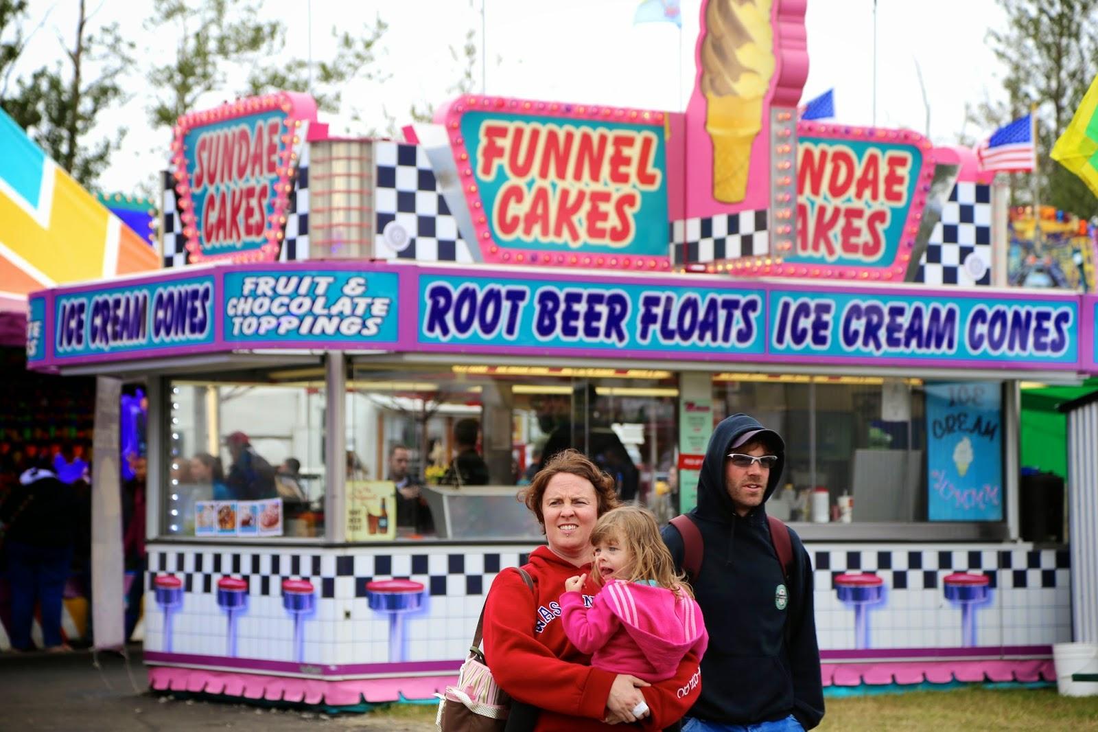 Funnel cake stall, Alaska State Fair