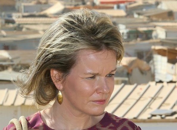 Jordan visit of Queen Mathilde of Belgium started, Queen Mathilde will also meet with Queen Rania of Jordan.