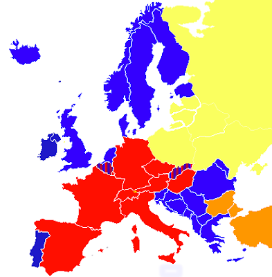 Grammazzle Mapa de Europa de Doblaje Versión Original
