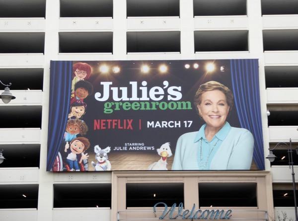 Julies Greenroom Netflix series billboard