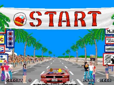 Videojuego Out Run - Arcade