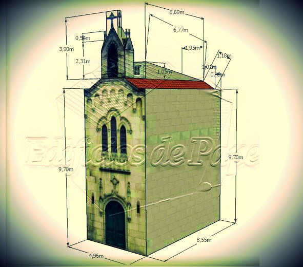PAPERMAU: Corregidor Chapel Paper Model