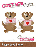 http://www.scrappingcottage.com/cottagecutzpuppyloveletter.aspx