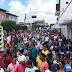 População de Riachão realiza grande protesto contra Temer e preço dos combustíveis