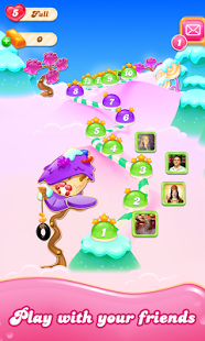 pada kesempatan kali ini admin akan membagikan sebuah Candy Crush Jelly Saga v1.65.6 Моd Apk (Unlimited Lives+Unlocked)