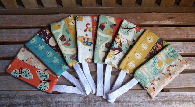 Fort Firefly Activity Pouches by Heidi Staples of Fabric Mutt