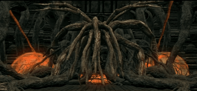 bed of chaos adalah bos dark souls