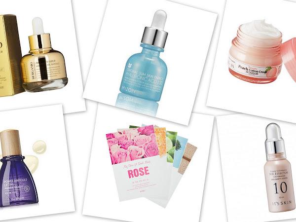 Korean products wishlist