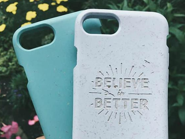 PELA CASE // 100% Compostable Phone Cases