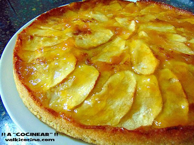 tarta de manzana fácil