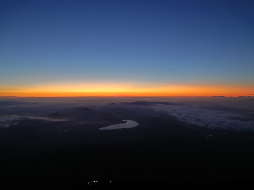 Mt Fuji Sunrise Japan