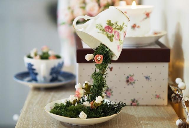 Cara Membuat Floating Tea Cup yang Istimewa Mudah, Bisa Jadi Hiasan atau Kado