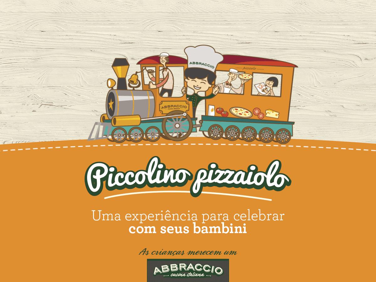 Pequenos pizzaiolos no Abbraccio: uma opção divertida e criativa para as férias da criançada!