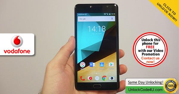 Factory Unlock Code Vodafone Smart Ultra 7
