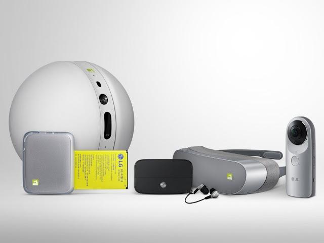 أل جي تعلن طرح هاتفها الذكي G5 عالميا اعتبارا من 31 مارس الجاري