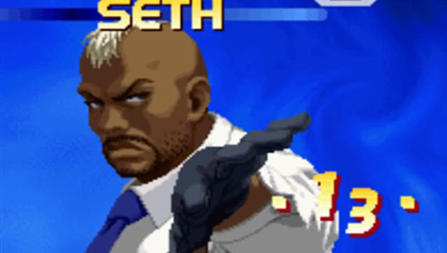 King of fighters seth