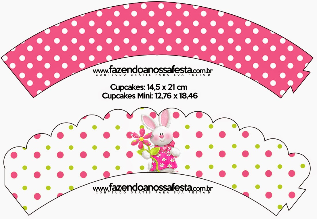 Easter in Pink: Free Party Printables.   Oh My Fiesta! in english