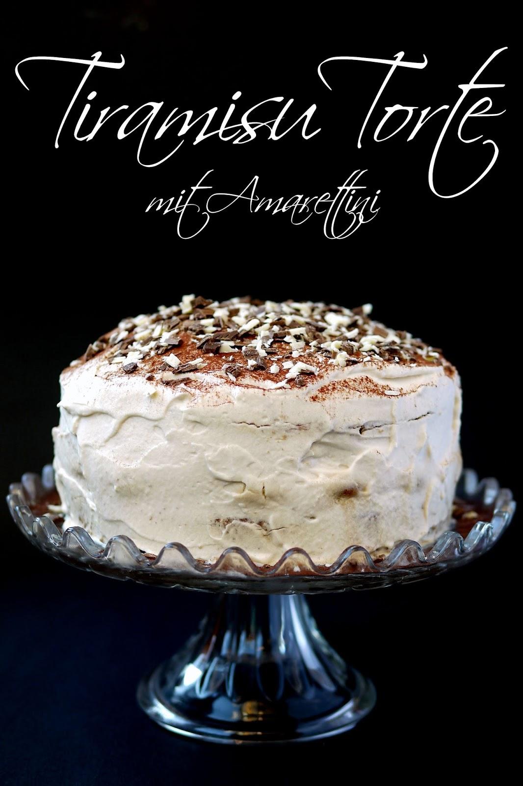Tiramisu Torte mit Amarettini | Rezept | Backen | Torte
