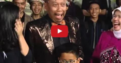 VIDEO: Momen Mengharukan Istri Tukul Arwana Bersama Dengan Keluarga Di Layar Kaca