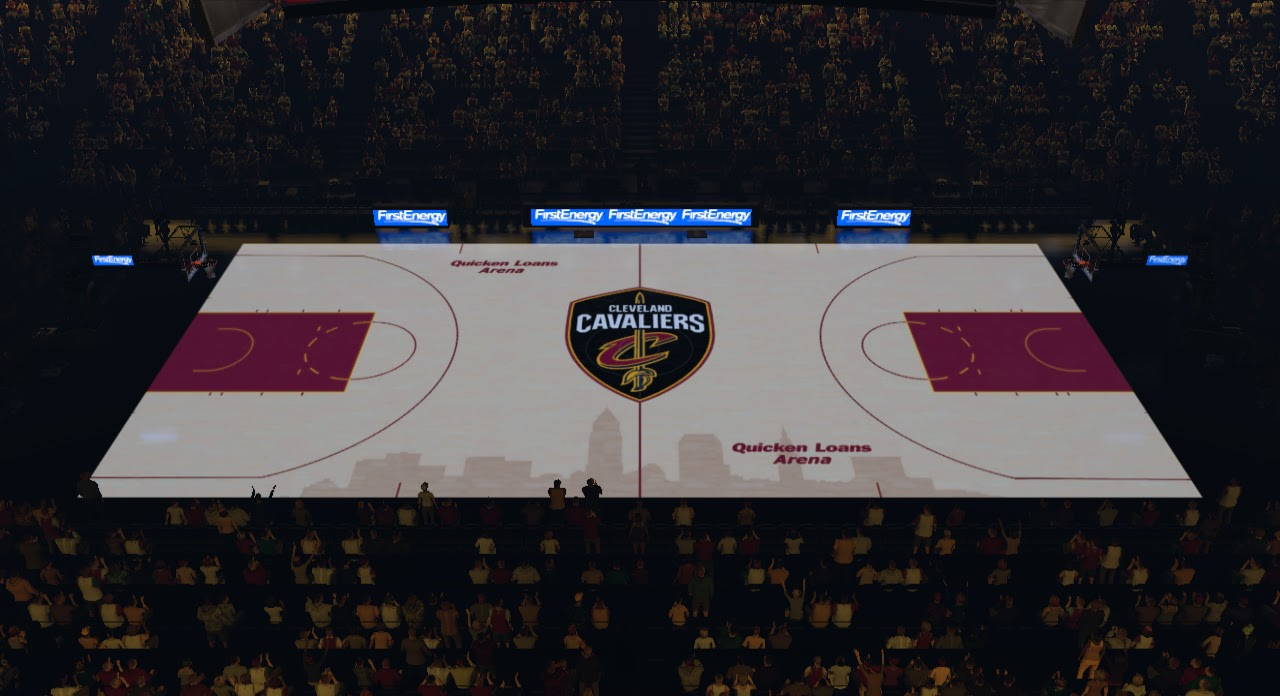 2K Mods By Iron Knight Quicken Loans Arena Cleveland
