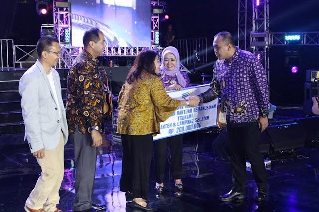 Donasi Rp 1,5 M Kabupaten Tangerang Untuk Korban Tsunami