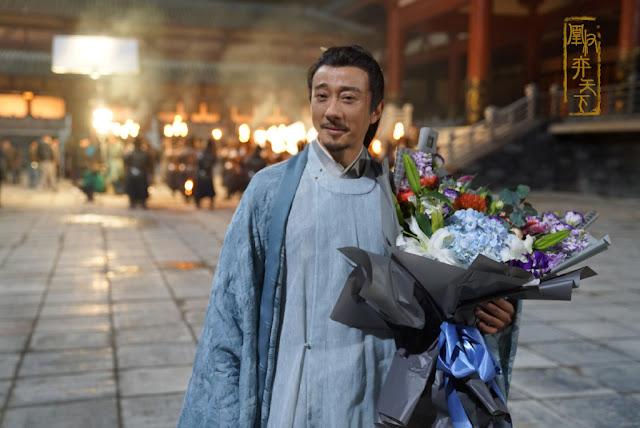 Rise of the Phoenixes Filming Wrap Zhao Li Xin