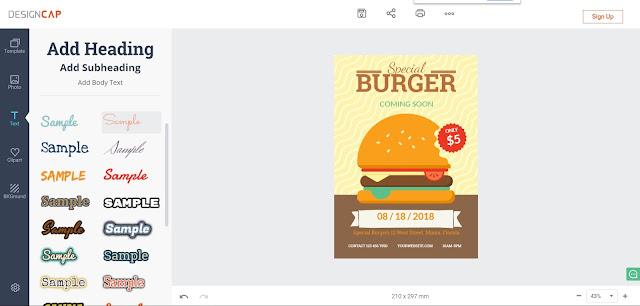 موقع من خلاله يمكنك تصميم الصور بسهولة و التعديل عليها