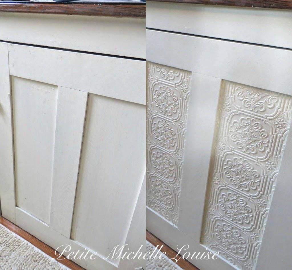 Petite Michelle Louise: DIY Cabinet Door Facelift