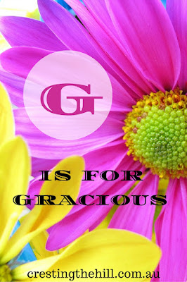 The A-Z of Positive Personality Traits - G is for Gracious
