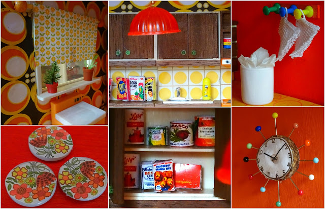 Retro Kitchen Piece Table And Chairs