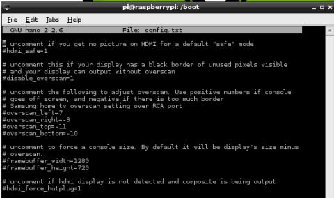 MYGeeks!: Raspberry Pi Video Output Configuration