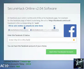 Cara hack Facebook dengan Hyper-Cracker Online