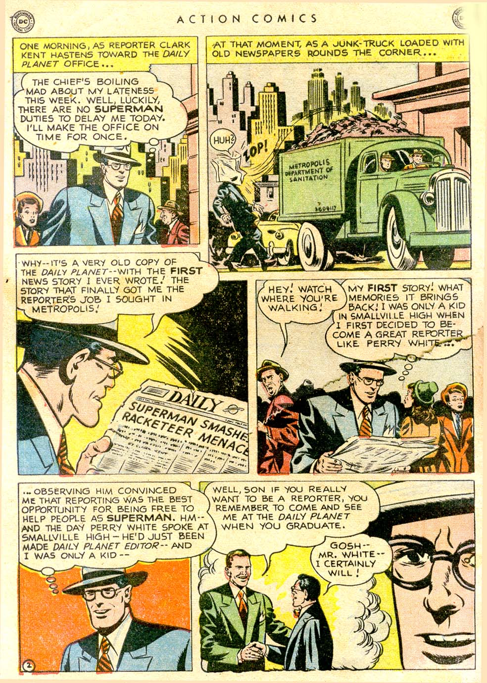 Action Comics (1938) 144 Page 3