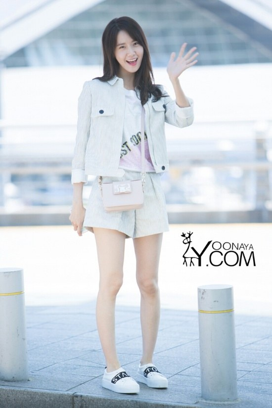 Snsd Yoona Airport Fashion Official Korean Fashion