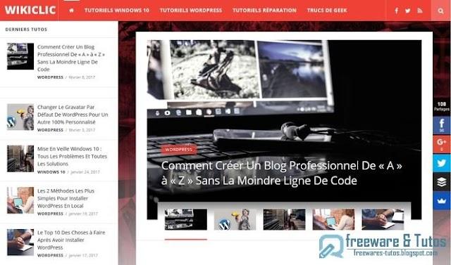 Le site du jour : Wikiclic