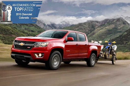 2015 Colorado and Corvette Named Edmunds.com Top Rated Vehicles