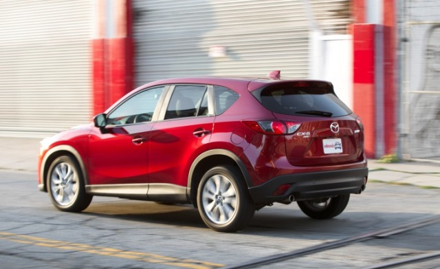 2013 Mazda CX-5 Grand Touring Rear