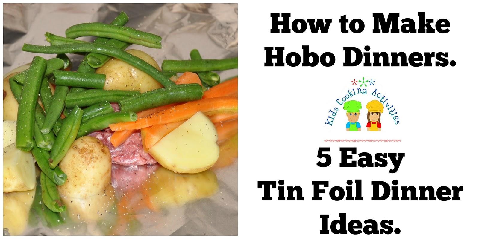 Tin Foil Dinner Ideas Campfire