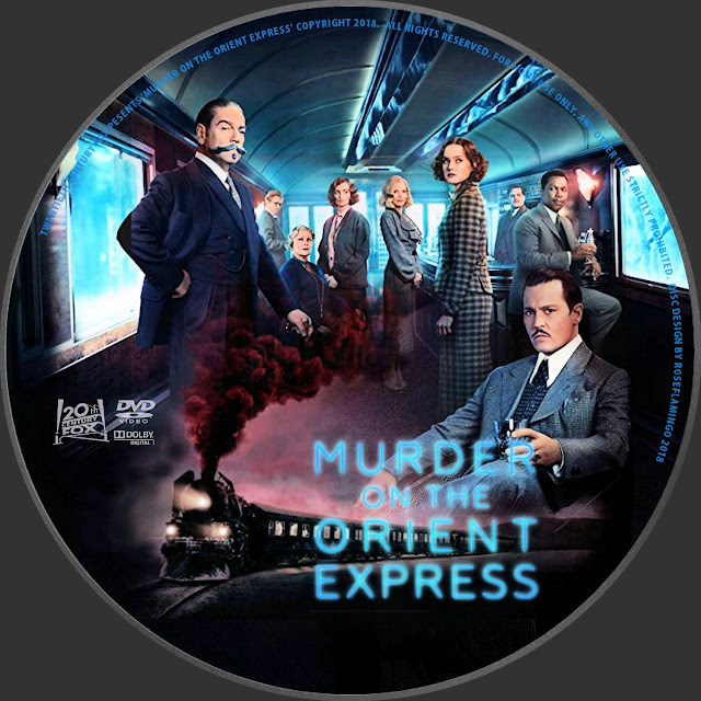 Murder On The Orient Express DVD Label