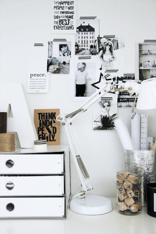 černobílý byt