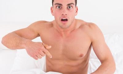 penis ereksi di pagi hari saat bangun tidur