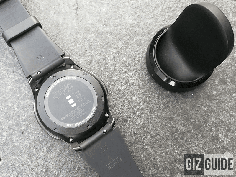 Wireless charging pad and the watch