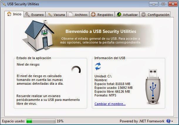 برنامج مجاني للتخلص من جميع فيروسات الفلاس ميموري وفيرس التشغيل التلقائي أوتو رن USB Security Utilities 1.0