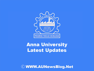 Anna University Special Exam August 2018 Review Results published