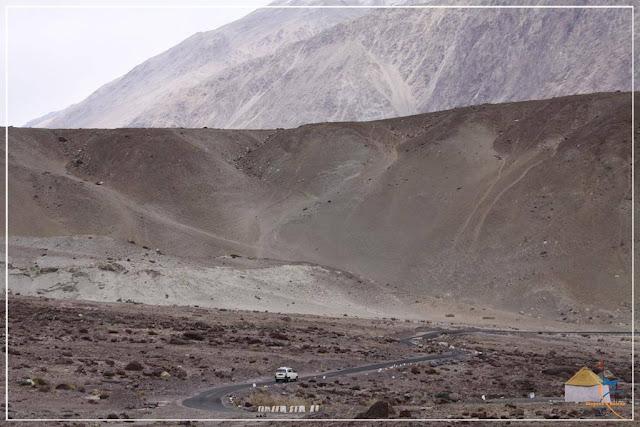 Estradas em Ladakh - Índia