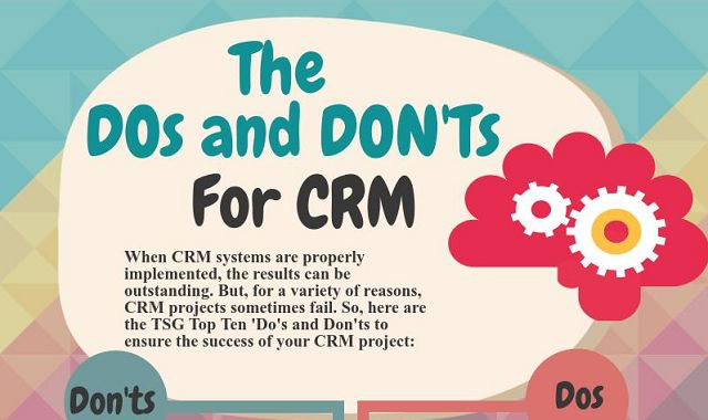 The Dos and Dont's For CRM