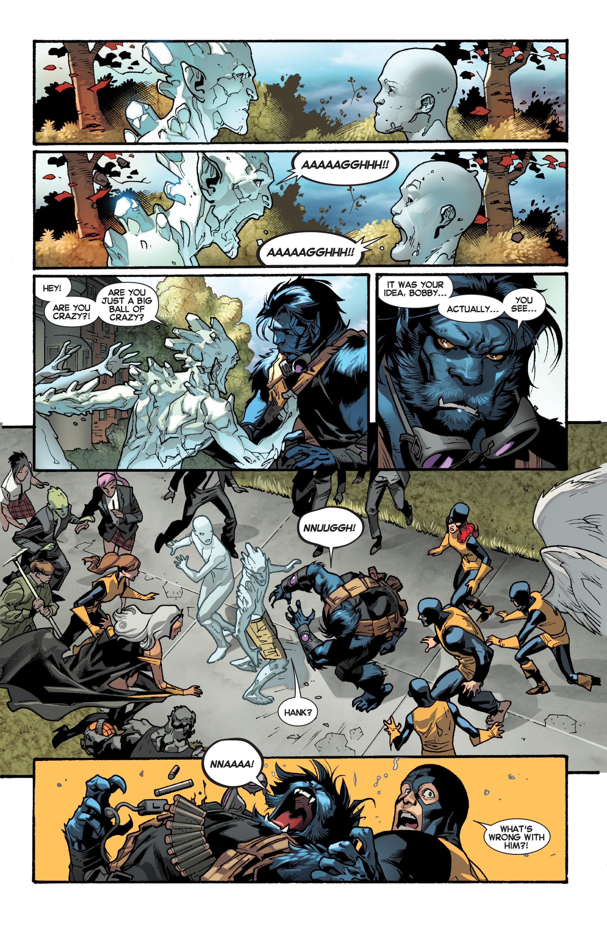 Read online All-New X-Men (2013) comic -  Issue # _Special - Yesterday's X-Men - 40
