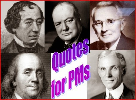 Famous Quotes for Project Managers