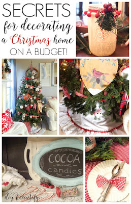 Find out how to decorate for Christmas on a budget at diy beautify!
