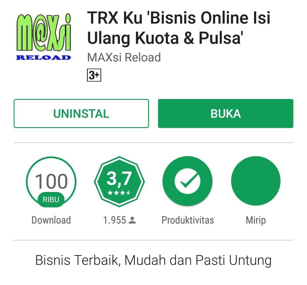 Server Pulsa Lintas Nasional Maxsi Reload Produk Lengkap Trx Cepat Voucher Indomaret Seratus Ribu 100rb Welcome